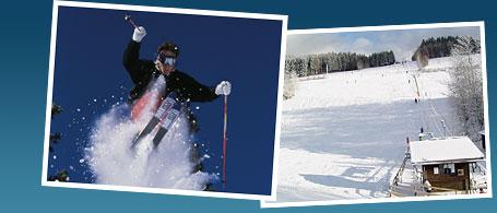 Skifahren im Bayerischen Wald